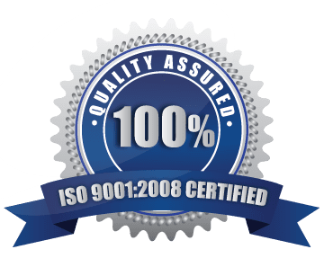 Quality Assured ISO 9001 100% Silver Seal